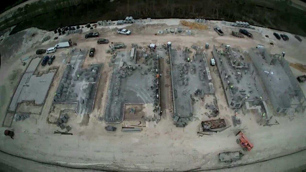 CSCI starting block work in a model row at Esplanade Lake Club in Ft. Myers, FL, by Taylor Morrison. This client required expedited scheduling for its new community.