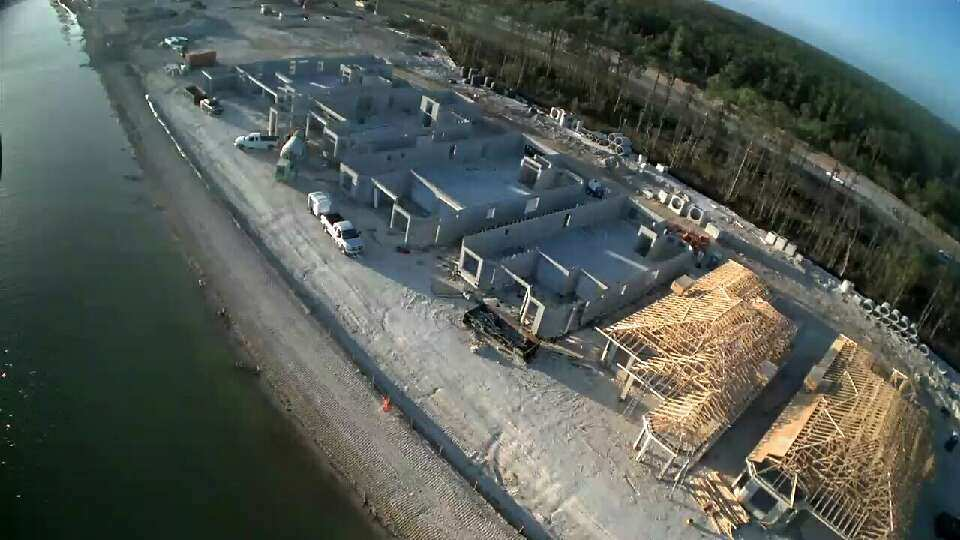 CSCI completing framing on 2 of 5 in a model row at Esplanade Lake Club in Ft. Myers, FL, by Taylor Morrison. This client required expedited scheduling for its new community.
