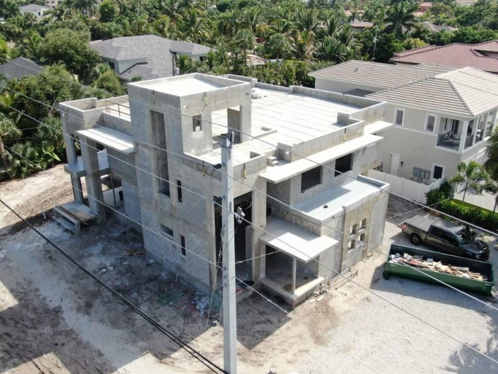 Custom home by Martoccia Custom Construction in Boca Raton, FL.
